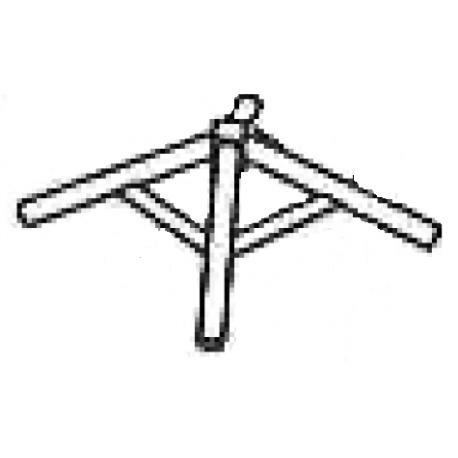 Chapiteau pyramide 3x3