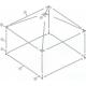 Pièces détachées Pyramide 4x4 ou 16 m² COULEUR