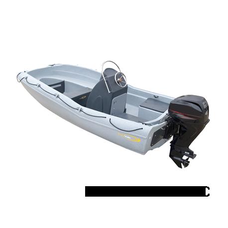 Bache de protection pour barque Funyak SECU-15 Console Dynamic