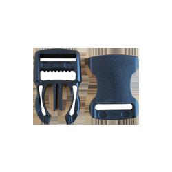 Boucles Clips noire YKK 25mm