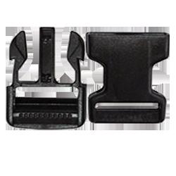 Boucle Clips noire 40mm