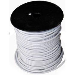 Sandow blanc Bobine 100m Cable élastique 4, 6 ou 8mm