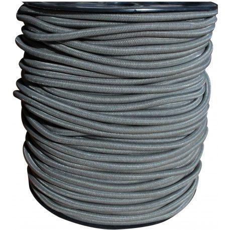 Sandow gris bobine 100m de 4mm à 8mm au ml