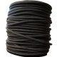 Sandow noir bobine 100m de 4mm à 8mm au ml