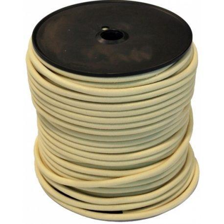 Sandow Bobine 100m  Cable elastique blanc