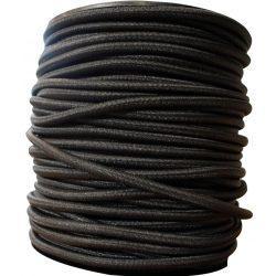 Sandow Bobine 100m  Cable elastique noir