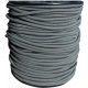 Sandow Bobine 100m  Cable elastique gris