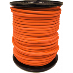 Sandow orange Bobine 100m Cable elastique 6mm 8mm 9mm