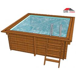 Bache piscine carré