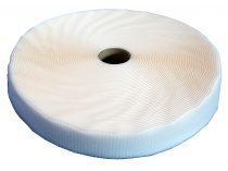 VELCRO blanc 50mm Rouleau de 50m