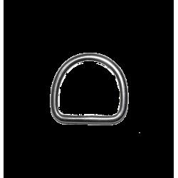 Dé - Anneau demi-rond soudé 40 mm
