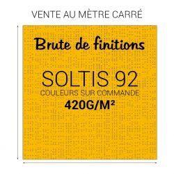 Toile microperforée SOLTIS 92
