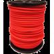 Sandow Bobine 100m Cable elastique rouge 6mm