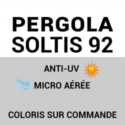 Guide étape par étape - Toile microperforée Soltis 92
