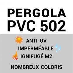 PVC 502 étanche & anti feu