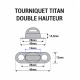 Dimensions Tourniquet TITAN 40x14.5mm