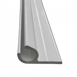 Rail caravane 10mm - Blanc - Vendu au ml