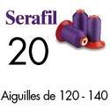 Fil couture Serafil 20