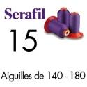 Fil couture Serafil 15