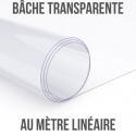 Bache transparente au ml