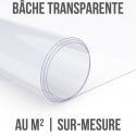 Bâche transparente au m²